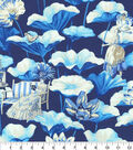 Home Decor 8\u0022x8\u0022 Fabric Swatch-P/K Lifestyles Lotus Dreams Porcelain