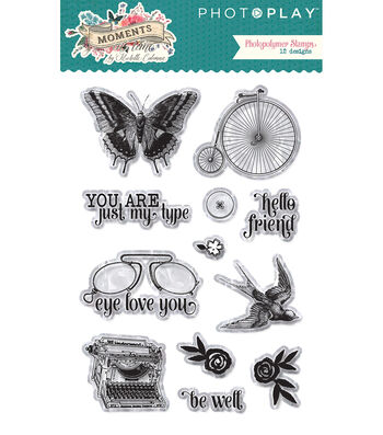 PhotoPlay Photopolymer Stamp-Moments In Time