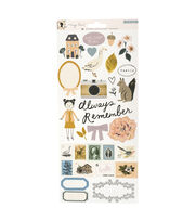 "Heritage by Maggie Holmes 6""x12"" Sticker Sheet, , hi-res"