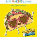 Little Makers Makit & Bakit Suncatcher-Happy Taco