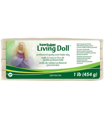 Super Sculpey Living Doll Clay-1 lb.