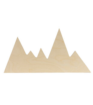 Walnut Hollow Unfinished Wood Surface Mountains