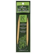 "Clover Bamboo 16"" Circular Knitting Needle-Size 11, , hi-res"