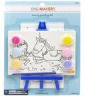 Little Makers 2Pk 4X6 Canvas Easel Kit-Unicorn