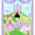 1 Yard Fabric Panel-Princess