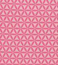 Jules & Coco Quilt Cotton Fabric 44\u0022-Geometric Pink