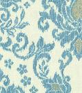 Waverly Upholstery Fabric 54\u0022-Tailored Romance Bluebell