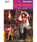 Simplicity Pattern 3677-Misses Costumes