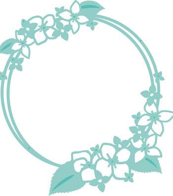 "Kaisercraft Decorative Die-Hydrangea Circle 4.25""X4.5"""