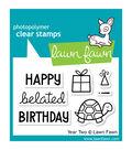 Lawn Fawn Clear Stamps 3\u0022X2\u0022-Year 2