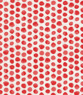 Keepsake Calico Cotton Fabric -Orange Shaded Dot