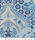 Home Decor 8\u0022x8\u0022 Fabric Swatch-Waverly Moonlit Shadows Lapis