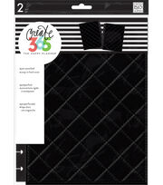 The Happy Planner Classic Snap-In Hard Cover Planner-Black, , hi-res
