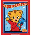 Daniel Tiger No-Sew Fleece Throw 48\u0022-Tigertastic
