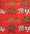 University of Maryland Terrapins Canvas Fabric -Logo