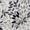 Sew Lush Fabric -Gray Floral Burst