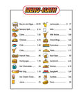 Menu Math for Beginners, 18 Extra Price Lists