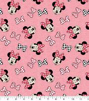 Disney Minnie Mouse Knit Cotton Fabric-Toss, , hi-res