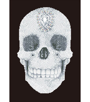 Diamond Dotz Diamond Facet Art Kit-Crystal Skull