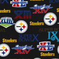Pittsburgh Steelers Cotton Fabric -Champion Legacy