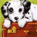 Vervaco 16\u0027\u0027x16\u0027\u0027 Cushion Counted Cross Stitch Kit-Dalmatian