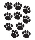 Accent Black Paw Prints 30/pk, Set Of 6 Packs