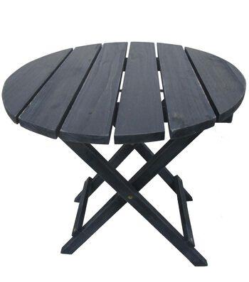 Americana Patriotic Wood Table-Navy
