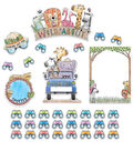Safari Friends Wild About Bulletin Board Set, 2 Sets