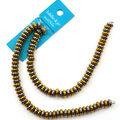 hildie & jo 3x6 mm Rondelle Strung Beads