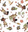 Disney Moana Cotton Fabric -Toss
