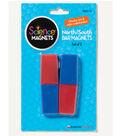 North/South Bar Magnets, 2 Per Set, 6 Sets