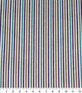 Quilter\u0027s Showcase Cotton Fabric-Purple & Teal Stripes