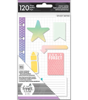 The Happy Planner Girl Mini Sticky Notes-Healthy Hero