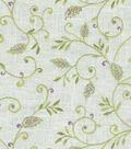 Home Decor 8\u0022x8\u0022 Fabric Swatch-Dena Kalia Embroidery Heather