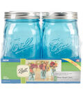 Ball Collection Elite Color Series 4 pk 32 oz. Quart Jars-Blue
