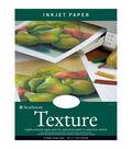 Strathmore Inkjet Paper Texture 8.5\u0022X11\u0022-80lb 25 Sheets