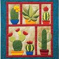 Rachel\u0027s Of Greenfield Wall Quilt Kit 13\u0022X15\u0022-Succulents