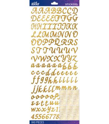 Gold Foil Script Value Pack