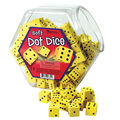 Learning Resources 200 pk Soft Foam Dot Dice