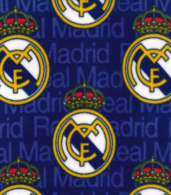 Real Madrid Football Club Fleece Fabric 58''