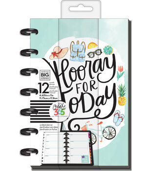 The Happy Planner 12-Month Undated Mini Planner-Everday Essential
