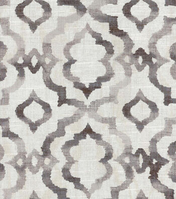 "Kelly Ripa Multi-Purpose Decor Fabric 54""-Good Vibes Ebony"
