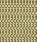 Home Decor 8\u0022x8\u0022 Fabric Swatch-Robert Allen Graphic Fret Citrine