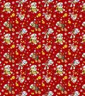 Nick Junior Paw Patrol Flannel Fabric -Christmas
