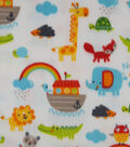Micro Fleece Fabric 59\u0022-Noahs Ark