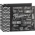 Pioneer 3-Ring Happiness Binder Chalkboard Album