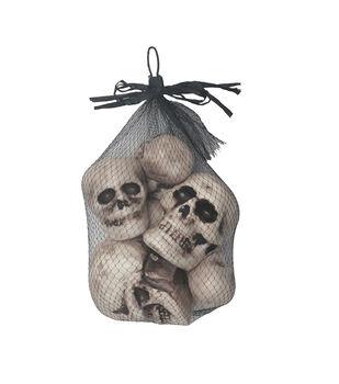 Maker's Halloween 8 pk Skull Heads in Bag