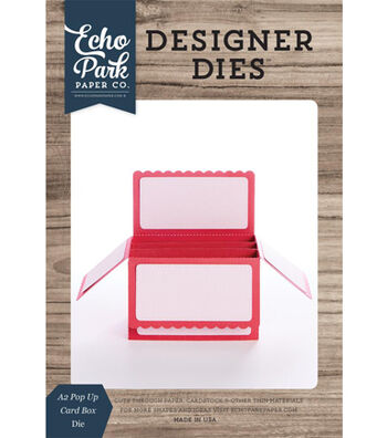Echo Park Paper Company Designer Die-A2 Pop Up Card Box