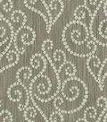 Home Decor 8\u0022x8\u0022 Fabric Swatch-Waverly Synergy Graphite