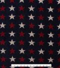 No Sew Fleece Throw Kit 48\u0027\u0027-Patriotic Pups Patch